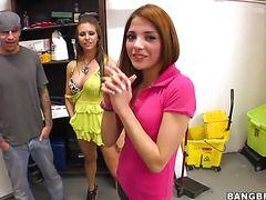 Порно видео худые молодые девушки