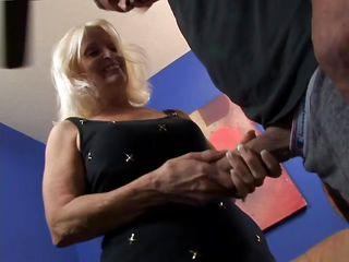 Бабушка порно массаж